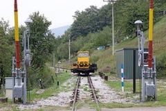 Maintenance vehicle for railway Royalty Free Stock Image