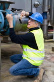 Maintenance worker Royalty Free Stock Photo