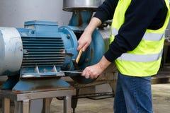 Maintenance worker Stock Image