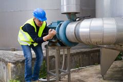 Maintenance worker Royalty Free Stock Images