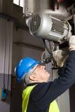 Maintenance worker Stock Photo