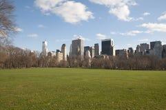 Maintenant ville de York, Central Park photos stock