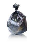 Maintenez les déchets dans le sac pour pour éliminer Photographie stock libre de droits