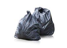 Maintenez les déchets dans le sac pour pour éliminer Photo stock