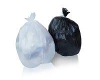 Maintenez les déchets dans le sac pour pour éliminer Photo libre de droits