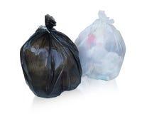 Maintenez les déchets dans le sac pour pour éliminer Image libre de droits