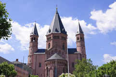 Mainz Cathedral Royalty Free Stock Images