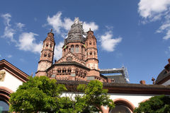 Mainz Cathedral Stock Image