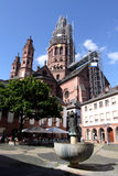 Mainz Cathedral Royalty Free Stock Photography