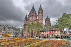 Mainz Cathedral Royalty Free Stock Image