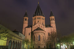 Mainz Cathedral in Germany Royalty Free Stock Images