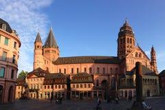 Mainz domkyrka royaltyfria bilder