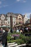 MAINZ, GERMANY Farmer market Stock Photos