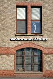 Furnishing Market Wohnraum Mainz Stock Images