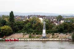 Mainz Kastel Arkivbild