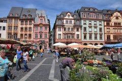 Mainz market Stock Photo