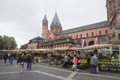 Mainz Market square Royalty Free Stock Photo
