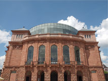Mainz National Theatre Royalty Free Stock Images