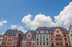 Mainz Old Town. Mainzer Altstadt old town in Mainz Germany Royalty Free Stock Photo