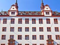 Mainz Old University. Gate of the old University of Mainz (Johannes Gutenberg University) in Rhineland-Palatinate, Germany Royalty Free Stock Photography