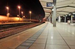 Mainz Train station. Mainz;  modern train station in winter time Royalty Free Stock Photos