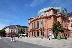 Mainz Tyskland Arkivbilder