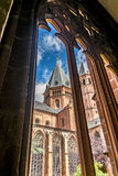 Mainzer Dom-Kathedrale in Mainz Stockbild