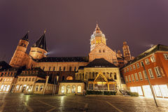 Mainzer Dom St.Martin Royalty Free Stock Photos