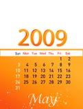 Maio 2009 Foto de Stock Royalty Free