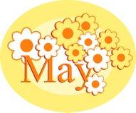 Maio ilustração royalty free