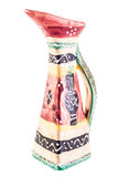 Maiolica pitcher Royalty Free Stock Photo