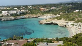 Maiorca Claro water. Maiorca Beach, Spain Stock Images