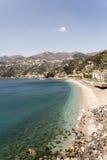 Maiori - Amalfi Coast. Maiori, has the largest and most beautiful beach on the Amalfi coast stock images