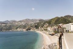 Maiori - Amalfi Coast. Maiori, has the largest and most beautiful beach on the Amalfi coast royalty free stock photos