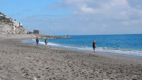 Maiori - przespacerowanie morzem zdjęcie wideo