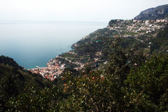 Maiori and ravello Stock Photos