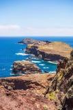 A maioria de ponto do vento do leste em Madeira Imagens de Stock Royalty Free