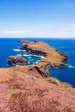 A maioria de ponto do vento do leste em Madeira Fotografia de Stock