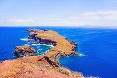 A maioria de ponto do vento do leste em Madeira Imagem de Stock