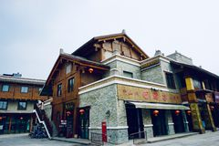 A maioria de residência étnica do estilo de Chiang foto de stock