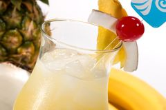 A maioria de série popular dos cocktail - Pina Colada Fotos de Stock Royalty Free