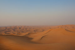 O deserto dos United Arab Emirates Foto de Stock Royalty Free