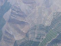 Maipo dolina, Santiago de Chile, Chile Fotografia Stock