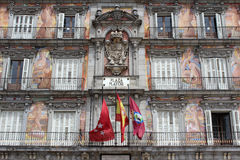 Maire Building, Madrid, Espagne de plaza Images stock