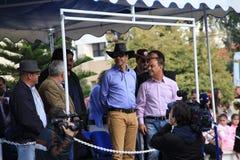 Maire de Paphos Savvas Vegas. image libre de droits