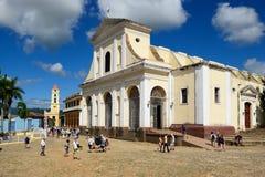 Maire de plaza au Trinidad sur le Cuba Images stock