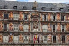 Maire de plaza - Madrid Photographie stock libre de droits