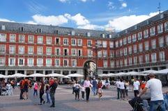 Maire de plaza, Madrid photos stock