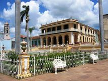 Maire de plaza, Trinidad images libres de droits