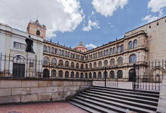 Maire San Bartolome Bogota Colombie de Colegio Photo stock